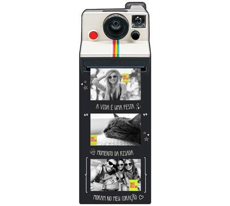 Mural fotos Polaroid