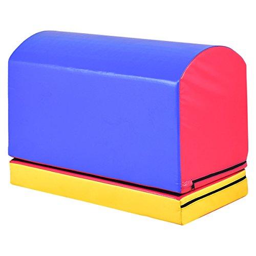 24.5'' Multi Function Mailbox Tumbling Trainer Heightening Mat Jumping Box Light Weight by FDInspiration