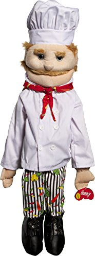 Sunny Toys GS4305 28 In. Dad Chef44; Full Body Puppet