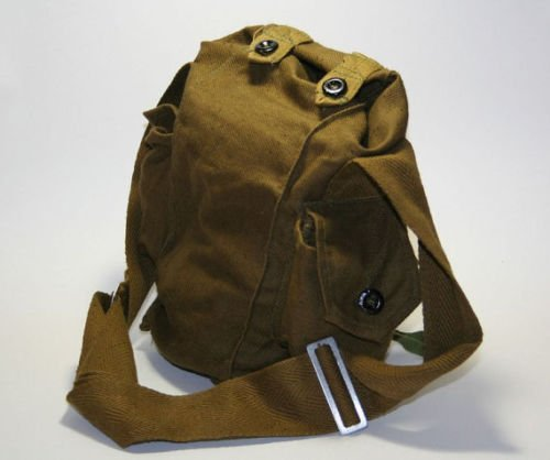 Gas Mask Bag (Vintage Soviet Gas Mask Canvas Carrier Bag Military Army)