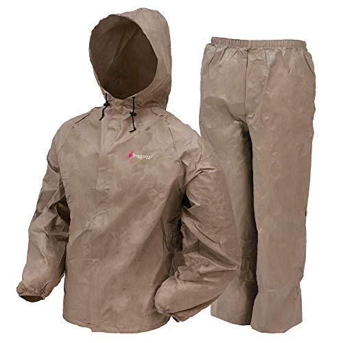 Frogg Toggs Women's Ultra Lite Suit, Large, Khaki ()
