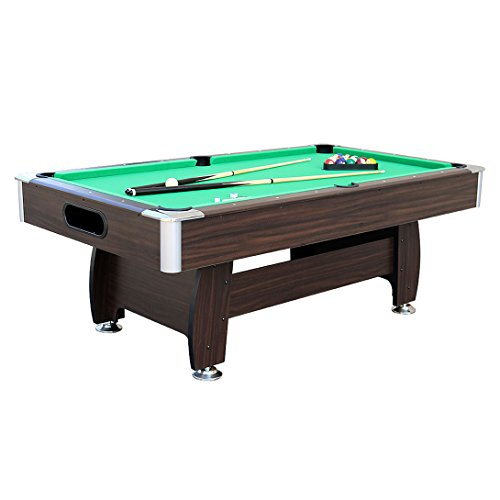 Tablecloth Drops Green Pool (Funmall 7FT Pool Table Billiard Game Table)
