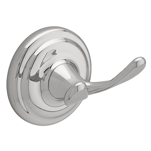 Franklin Brass 127730 Jamestown Bath Hardware Accessory Double Robe Hook, Polished Chrome