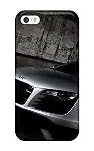 High Quality Shock Absorbing Case For Iphone 5/5s-audi Cars