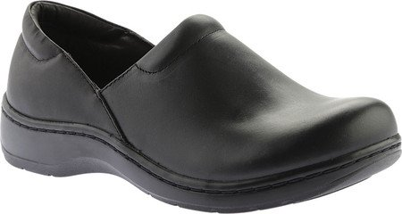 Women's Tempur Clog Pedic Kaydi Greasy Closed Back Black 55W4q6wOrX