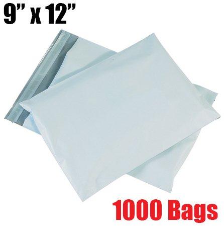 (iMBAPrice 1000 - 9x12 Premium Matte Finish White Poly Mailers Envelopes Bags (iMBA-3PM-1000))