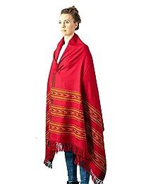 Meditation Shawl by Om Shanti Crafts   Prayer Shawl for Daily Meditation, Unisex