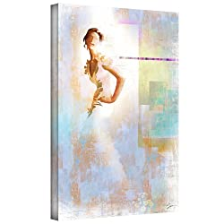 Art Wall 'Diva I' Gallery Wrapped Canvas Art By Greg Simanson, 32 By 48-inch