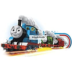 "8"" Thomas James Percy No. Number 1 5 6 Blue Red Green the Tank and Friends Removable Wall Decal Sticker Art Home Decor 8 1/2 inches wide by 5 inches tall"