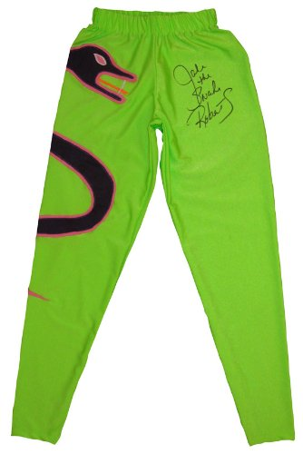jake the snake roberts signed snake pants