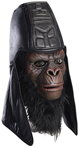 Rubie's Men's Classic Planet Of The Apes Overhead General Usurus Mask,  Multi,  One Size]()