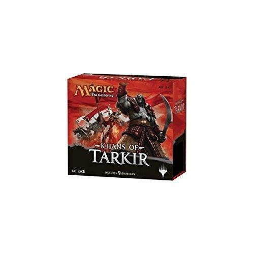 Magic: the Gathering – Khans of Tarkir – Sealed Fat Pack (9 Booster Packs & More) image