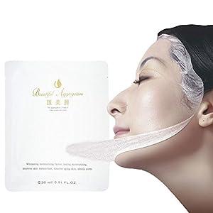 Silk Facial Mask Bright White Moisturizing Cleansing Repair Face Mask All Natural Ingredients Facial Mask Sheet