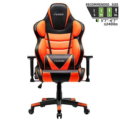 Musso Contoured Gaming Chair Adults...