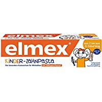 pasta de dientes de los niños Elmex, 6-pack