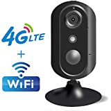 Home Camera, JIMI 3G/4G LTE Mobile Security Home Camera Wireless WiFi Smart Indoor Surveillance IP Security Camera with Night Vision, Two Way Audio, Motion Sensor for Baby, Pet, Nanny Monitoring