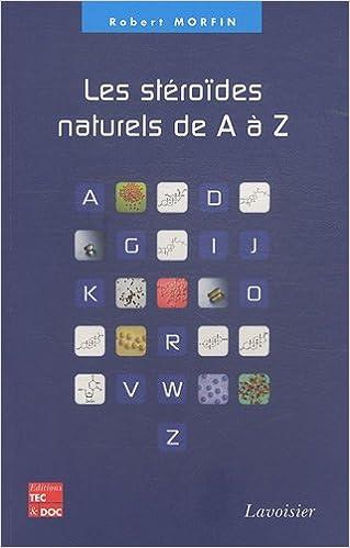 Livre Les stéroïdes naturels de A à Z pdf