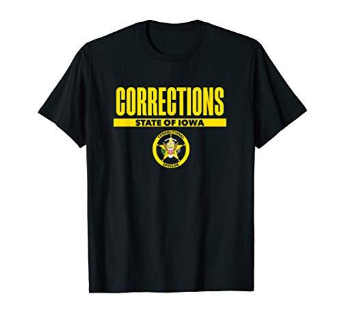 Iowa Correctional Officer Thin Gray Line Flag