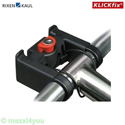 01179921 Klickfix Lenkradadapter abschließbar für Körbe Taschen Kartenhalter