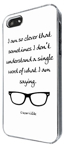 726 - I'm so smart That Sometime i don't undertant a single word of what i am saying Design iphone 5 5S Coque Fashion Trend Case Coque Protection Cover plastique et métal