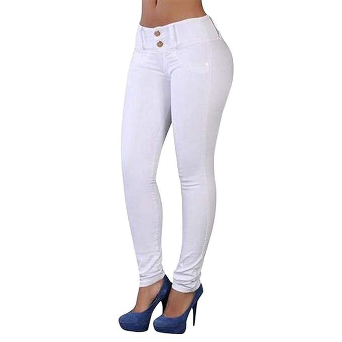 Pantalones Vaqueros para Mujer Pantalones Pitillo Jegging ...