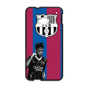 Barcelona HTC One M7 Cell Phone Case Black Yyccb
