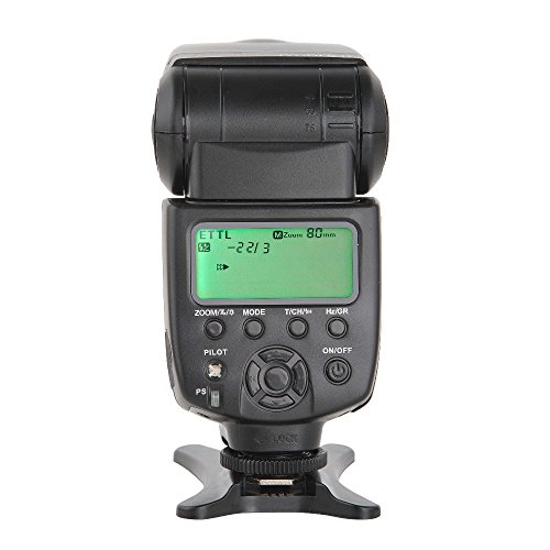 [ ROHS CE ] VILTROX JY-680Ch 1/8000S High Speed Sync HSS ETTL TTL Flash Speedlite for Canon DSLR 760D 750D 700D 650D 600D 70D 60D 5DII 7D GN58