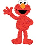 RoomMates RMK1867GM Sesame Street Elmo Loves You Peel and Stick Giant Wall Decals