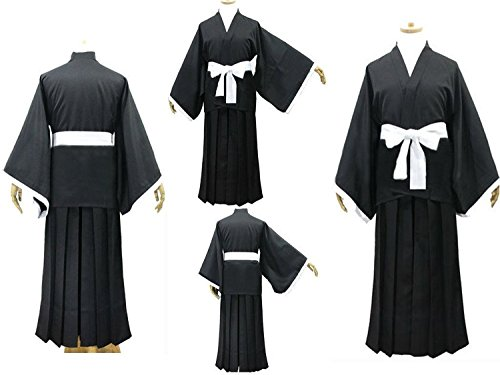 Bleach Cosplay Shinigami Kimono Costume,size M -