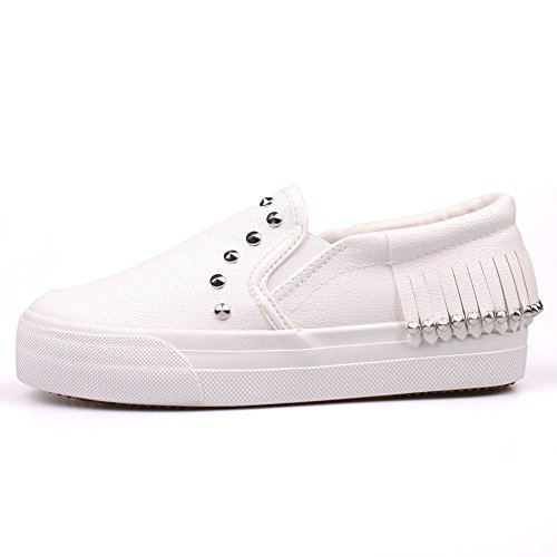 desklets-womens-mothers-day-gifts-comfortable-lace-up-teeangers-loaf-canvas-shoes-tassels-sneaker39-