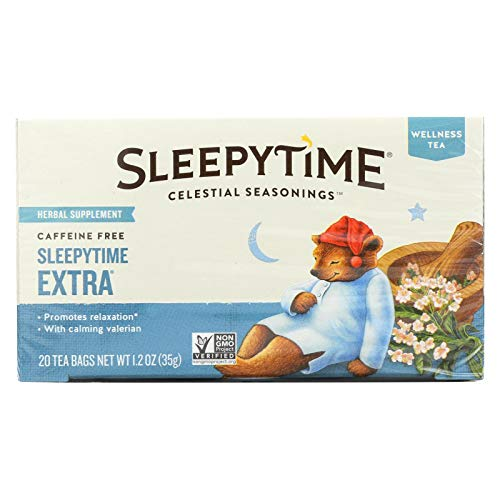 Celestial Seasonings Sleepytime Extra Tea Bags, 20 ct, 2 pk (The Best Sleepy Time Tea)