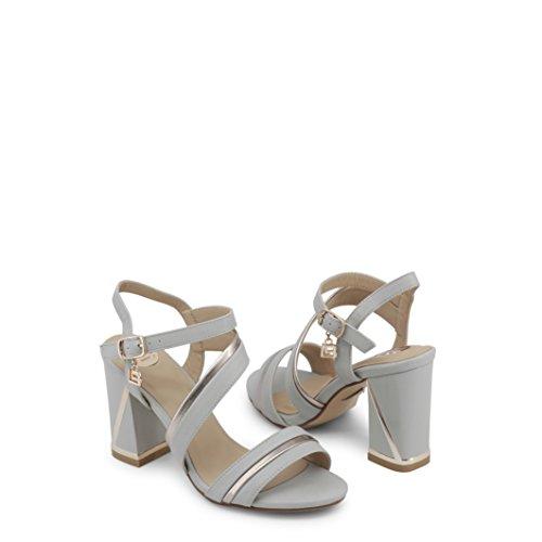 Laura Biagiotti 645_Calf Sandals Women Grey 41 jqcfCRijO