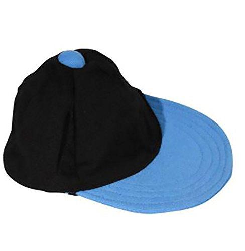 (Black and Blue Baseball Cap Fits Most 14