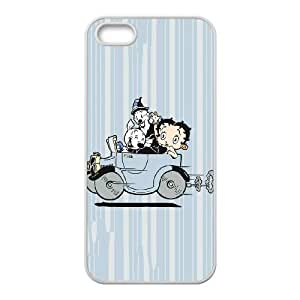 iPhone 4 4s Cell Phone Case White Betty Boop Taking A Drive LSO7725730