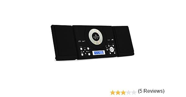 Auna Estéreo CD MP3 USB Negro