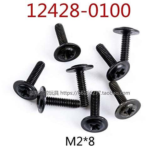 ShineBear 12428 12423 12628 12428-A 12428-B 12428-C RC Car Spare Parts 12428-0069~12428-0117 Full car Screw - (Color: 12428-0100)