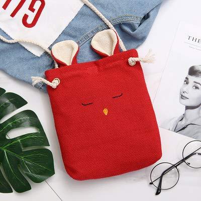 versione rosso semplici maniglie coreana donna borsa beige per da selvaggia per vento college portatili a tracolla studenti Saoga Borsa OUzq4