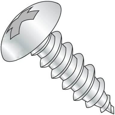 Sheet Metal Screws Type A Truss Phillips Drive Quantity: 2000 pcs Full Thread Stainless Steel 18-8 #10 x 3//4 Self Tapping Screws