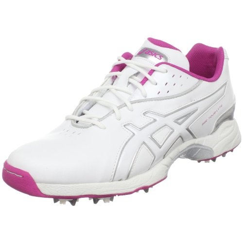 ASICS Women's GEL-Tour Lyte Golf Shoe,White/Orchid/Silver,9.5 M (Best Asics Running Shoes For Womens 2014)