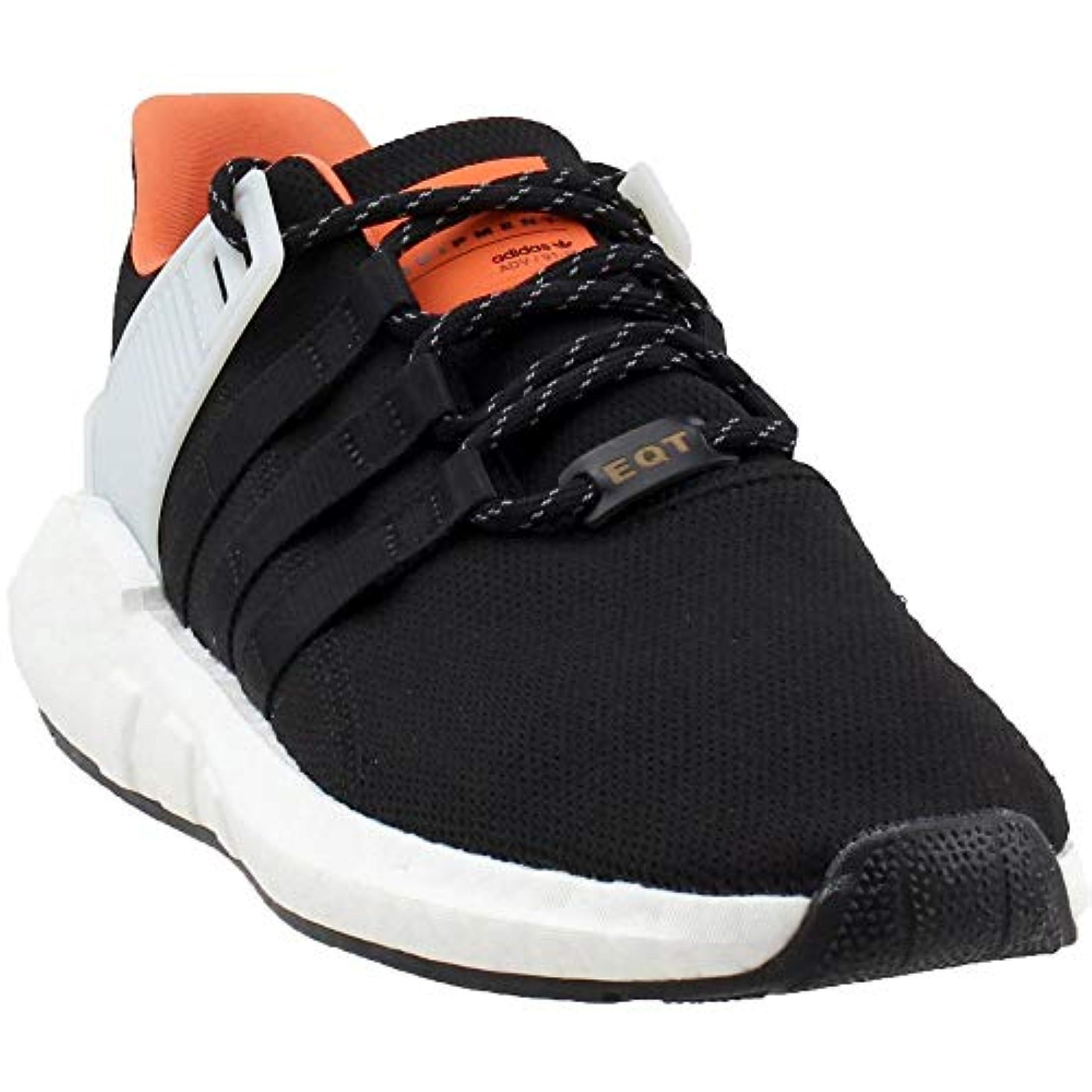 new concept 18a90 3d0fb adidas Men s Originals EQT Support 93 17 Shoes (Core Black, Black, White -  Size 9.5)