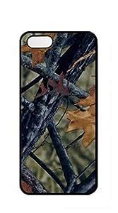 Hard Plastic and Aluminum Back case iphone 5s camo - camo color