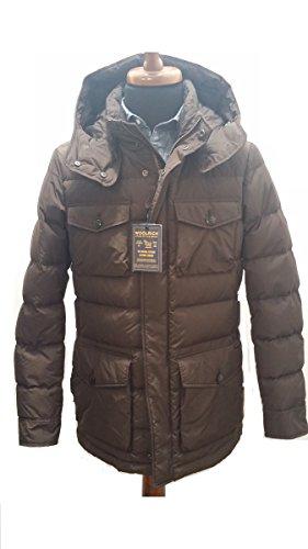 Verde Rosin Field Jacket Woolrich Fango 6377 Wocps2487 Green Pocono Tw0zxP7nq