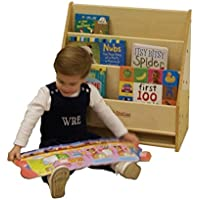 Kids Station Toddler Daycare Book Display, Assembled, Fully Assembled