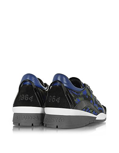 DSQUARED2 HOMME S17SN40411283085 MULTICOLORE POLYAMIDE BASKETS