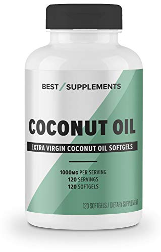 Best Supplements Coconut Softgels Non GMO
