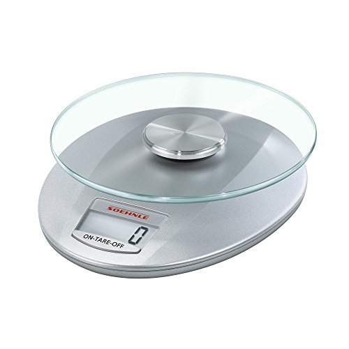 (Soehnle Roma Digital Kitchen Scale, Silver)