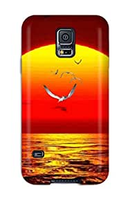 Cassandra Byers Fashion Protective Water Animated Nature Case Cover For Galaxy S5