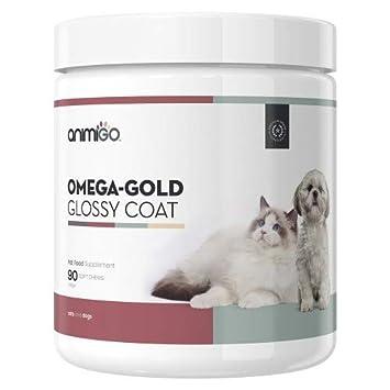Omega Pelaje Brillante 90 Comprimidos Masticables para la Piel y el Pelaje de Perros y Gatos