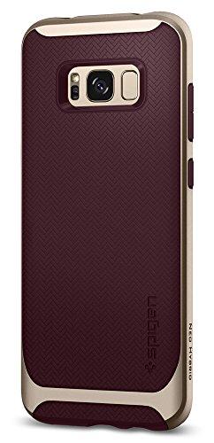 (Spigen Neo Hybrid Designed for Samsung Galaxy S8 Case (2017) - Burgundy)