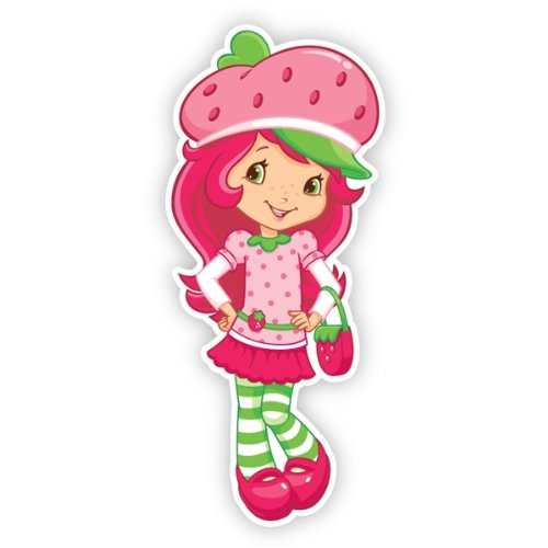 Walls 360 Peel & Stick Wall Decals: Strawberry Shortcake II (5.25 in (Strawberry Shortcake Wall Stickers)